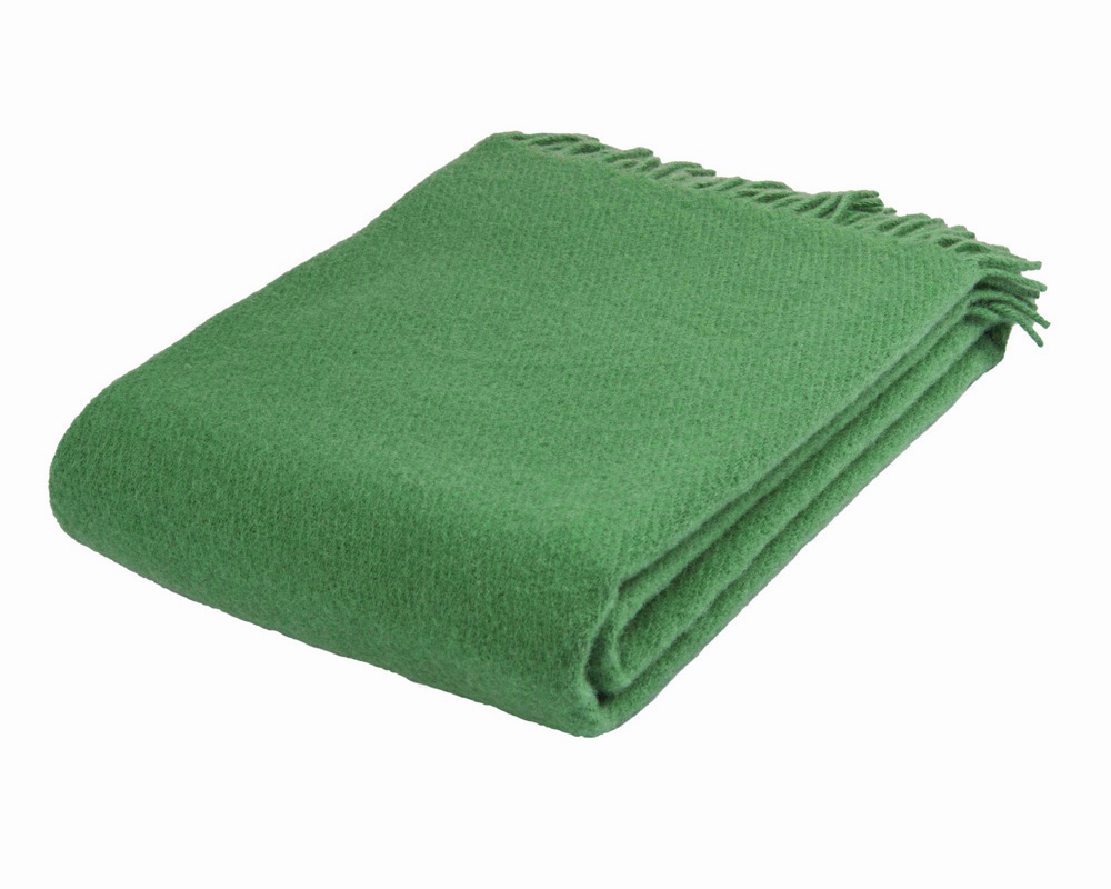 Solid - Green 100 % uld Sengekompagniet