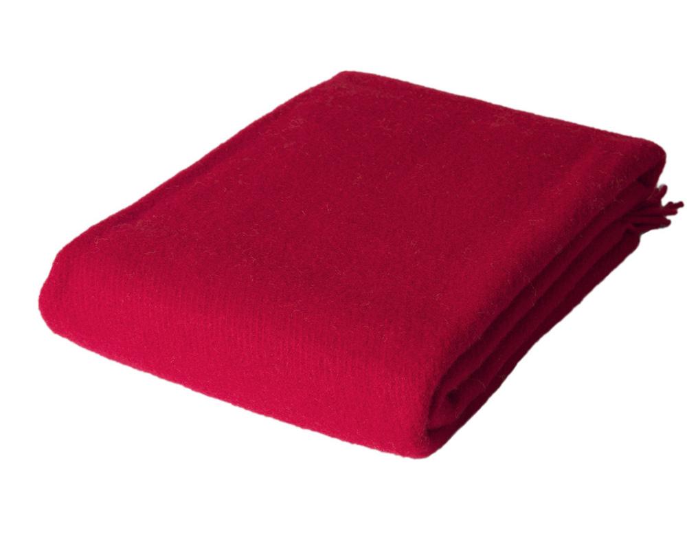 Solid - Red 100 % uld Sengekompagniet